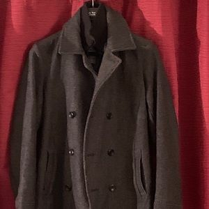 American Rag Pea Coat Vest Liner Double Breasted